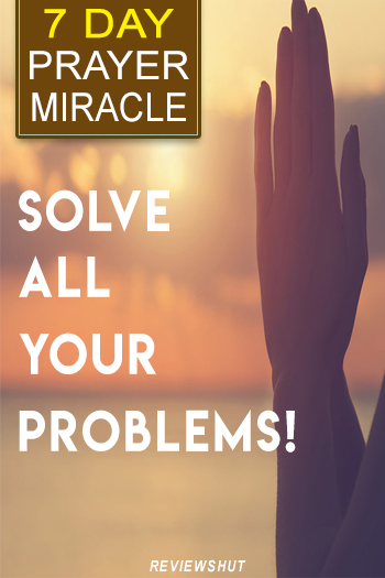 7 Day Prayer Miracle solve your problems