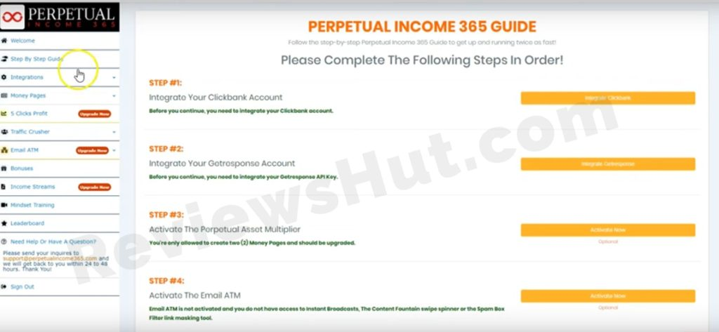 Perpetual Income 365 Screenshot